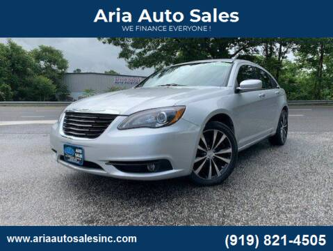 2012 Chrysler 200 for sale at ARIA  AUTO  SALES in Raleigh NC