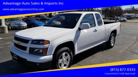 2012 Chevrolet Colorado for sale at Advantage Auto Sales & Imports Inc in Loves Park IL