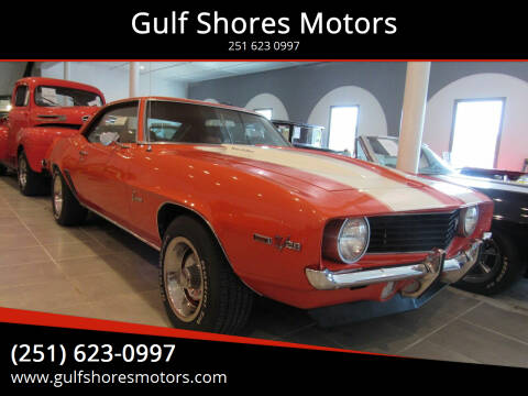 1969 Chevrolet Camaro for sale at Gulf Shores Motors in Gulf Shores AL