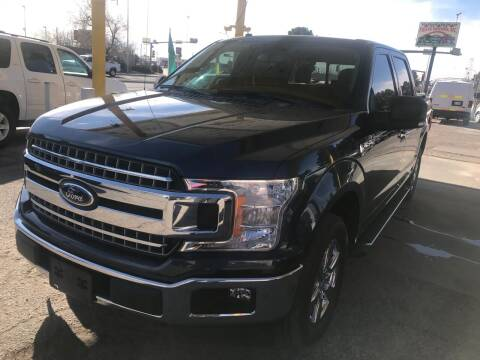 2018 Ford F-150 for sale at Fiesta Motors Inc in Las Cruces NM