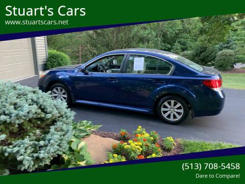 2011 Subaru Legacy for sale at Stuart's Cars in Cincinnati OH
