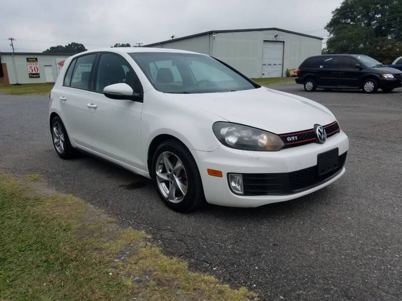 2011 Volkswagen GTI for sale at JR's Auto Sales Inc. in Shelby NC