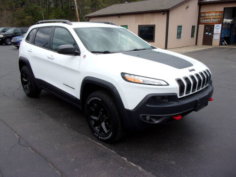 2018 Jeep Cherokee for sale at Dave Thornton North East Motors in North East PA