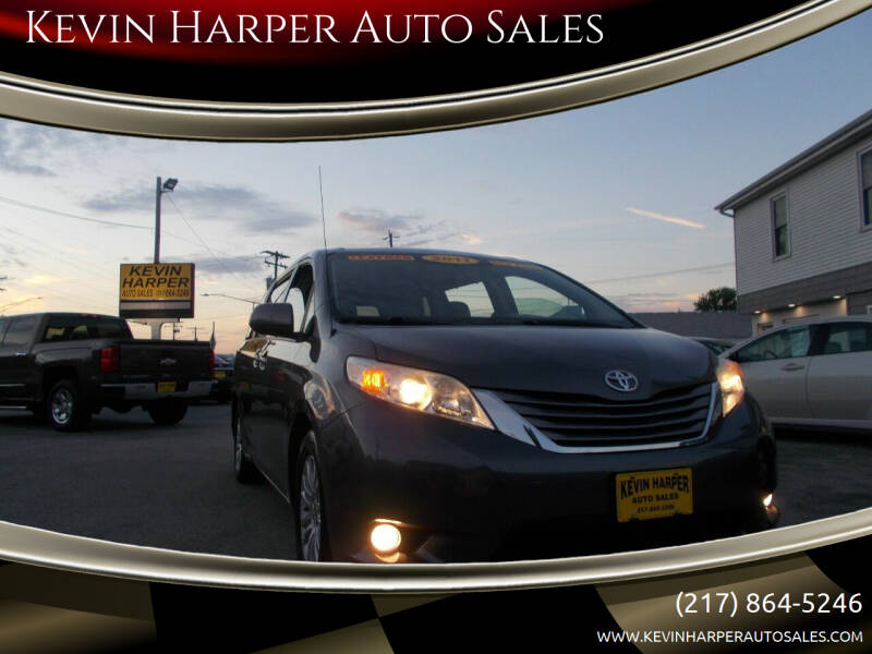 2011 Toyota Sienna for sale at Kevin Harper Auto Sales in Mount Zion IL