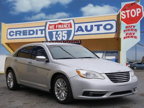 2011 Chrysler 200 for sale at Buy Here Pay Here Lawton.com in Lawton OK