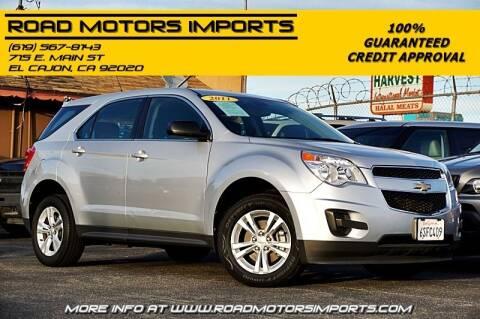2011 Chevrolet Equinox for sale at Road Motors Imports in El Cajon CA