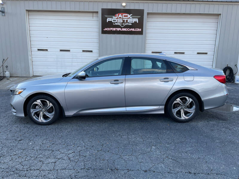 2018 Honda Accord for sale at Jack Foster Used Cars LLC in Honea Path SC