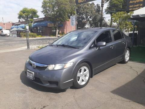 2011 Honda Civic for sale at Alliance Auto Group Inc in Fullerton CA