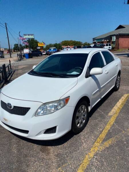 2009 Toyota Corolla for sale at BMG AUTO GROUP in Arlington TX