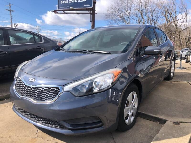2015 Kia Forte for sale at Wolff Auto Sales in Clarksville TN