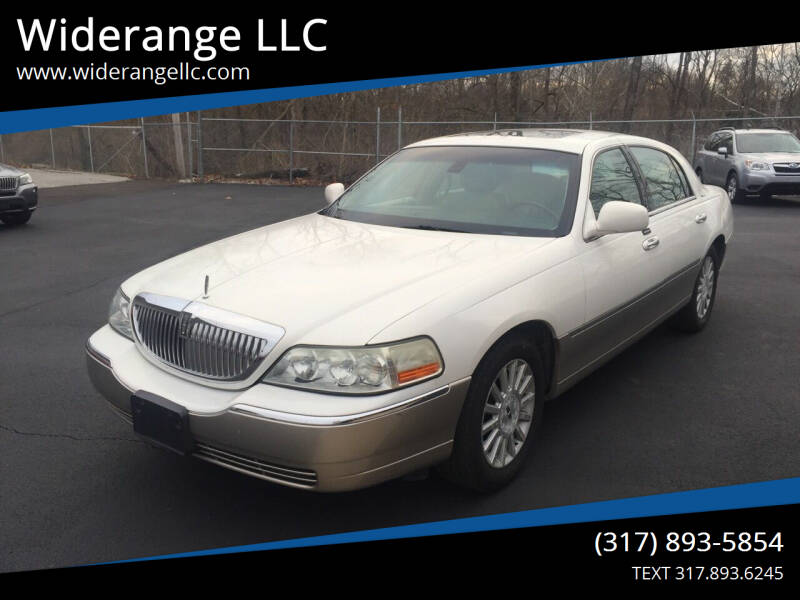2003 Lincoln Town Car for sale at Widerange LLC in Greenwood IN