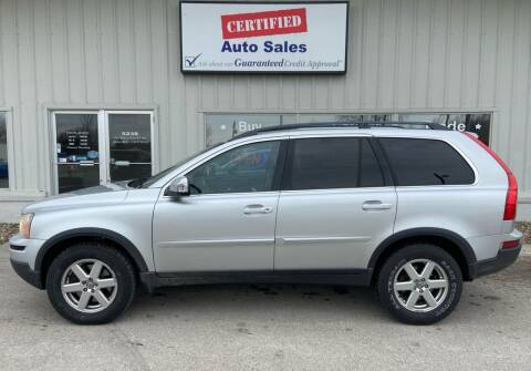 2007 Volvo XC90 for sale at Certified Auto Sales in Des Moines IA