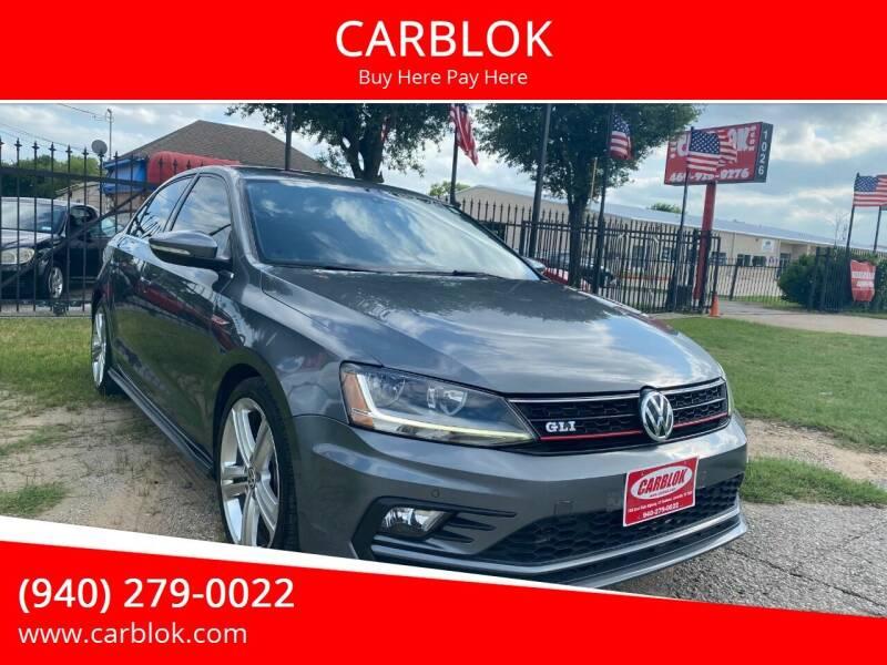2017 Volkswagen Jetta for sale at CARBLOK in Lewisville TX
