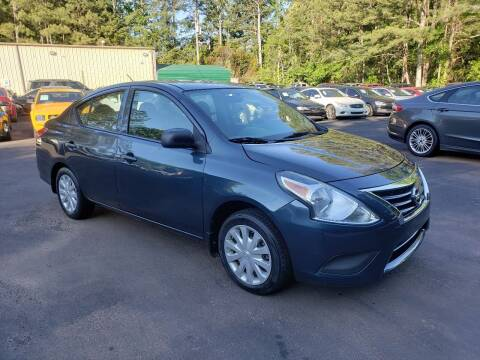 2015 Nissan Versa for sale at GA Auto IMPORTS  LLC in Buford GA