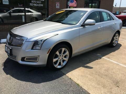 2013 Cadillac ATS for sale at Bankruptcy Car Financing in Norfolk VA