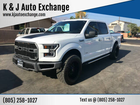 2015 Ford F-150 for sale at K & J Auto Exchange in Santa Paula CA