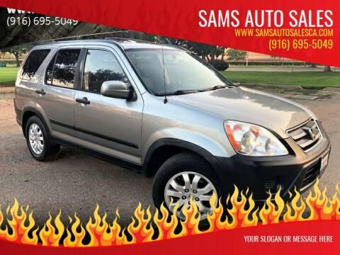 2006 Honda CR-V for sale at Sams Auto Sales in North Highlands CA