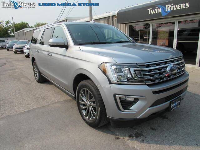 2020 Ford Expedition MAX for sale at TWIN RIVERS CHRYSLER JEEP DODGE RAM in Beatrice NE