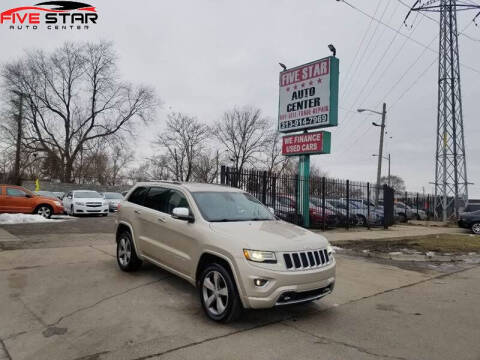 2014 Jeep Grand Cherokee for sale at Five Star Auto Center in Detroit MI