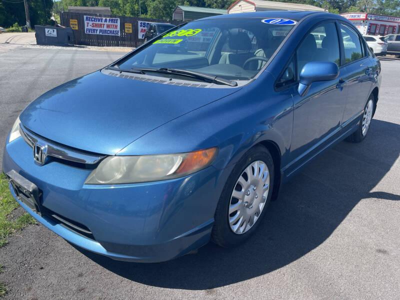 2007 Honda Civic for sale at Cars for Less in Phenix City AL