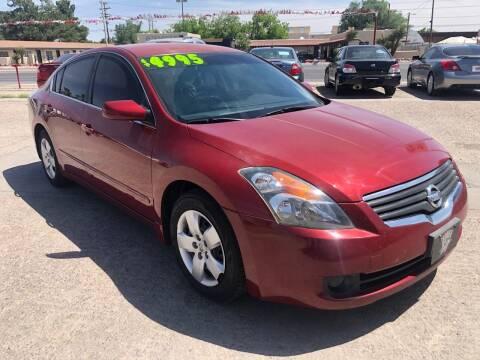 2007 Nissan Altima for sale at Senor Coche Auto Sales in Las Cruces NM