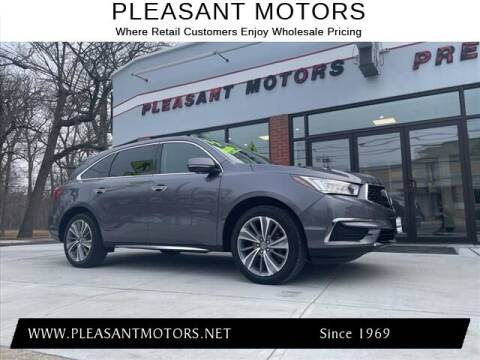 2017 Acura MDX for sale at Pleasant Motors in New Bedford MA