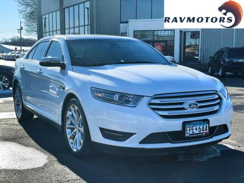 2016 Ford Taurus for sale at RAVMOTORS 2 in Crystal MN