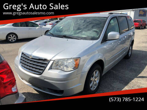 2008 Chrysler Town and Country for sale at Greg's Auto Sales in Poplar Bluff MO