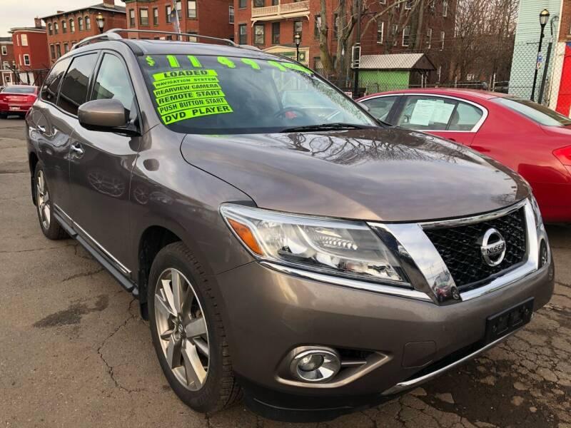 2013 Nissan Pathfinder for sale at James Motor Cars in Hartford CT
