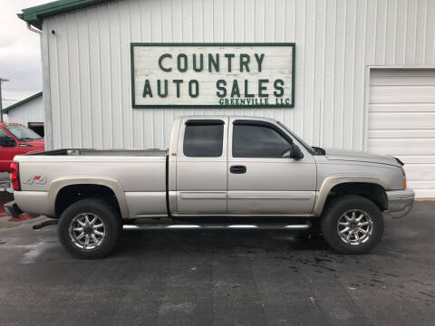 2006 Chevrolet Silverado 1500 for sale at COUNTRY AUTO SALES LLC in Greenville OH