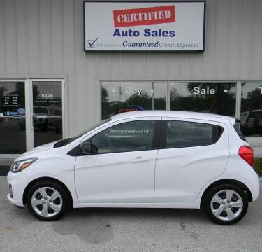 2019 Chevrolet Spark for sale at Certified Auto Sales in Des Moines IA