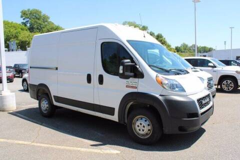 2020 RAM ProMaster Cargo for sale at Hickory Used Car Superstore in Hickory NC