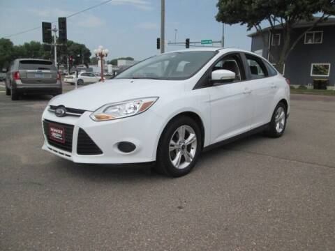 2013 Ford Focus for sale at SCHULTZ MOTORS in Fairmont MN