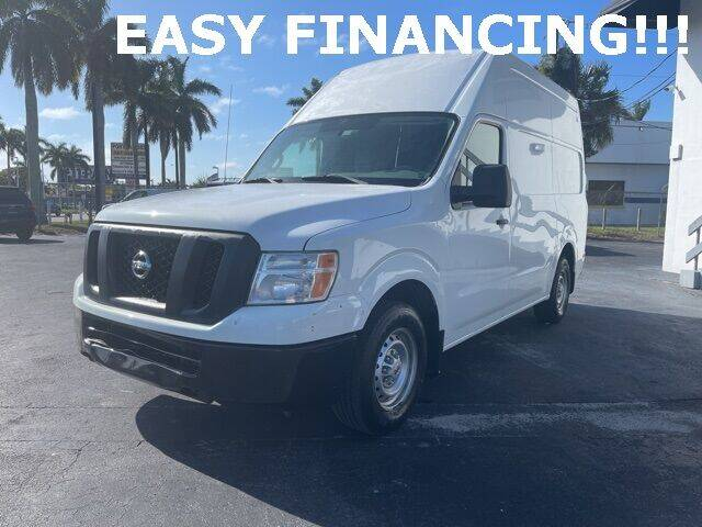 2014 Nissan NV Cargo for sale at Automotive Credit Union Services in West Palm Beach FL