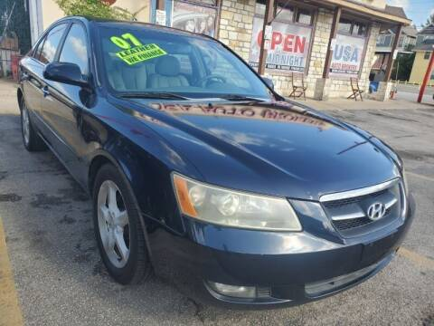 2007 Hyundai Sonata for sale at USA Auto Brokers in Houston TX