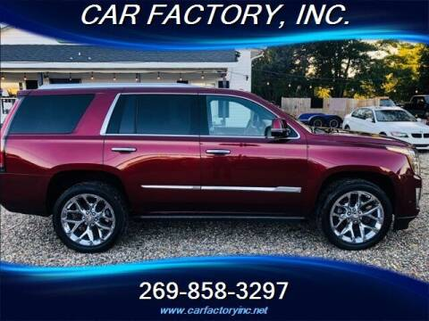 2017 Cadillac Escalade for sale at Car Factory Inc. in Three Rivers MI