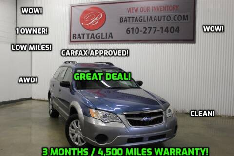 2008 Subaru Outback for sale at Battaglia Auto Sales in Plymouth Meeting PA