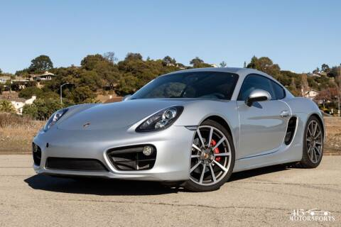 2014 Porsche Cayman for sale at 415 Motorsports in San Rafael CA