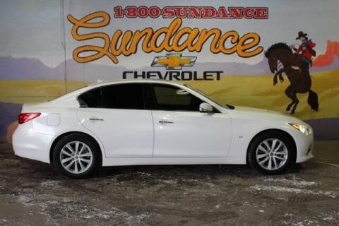 2014 Infiniti Q50 for sale at Sundance Chevrolet in Grand Ledge MI