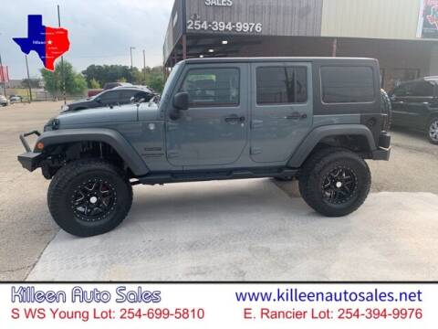 2014 Jeep Wrangler Unlimited for sale at Killeen Auto Sales in Killeen TX