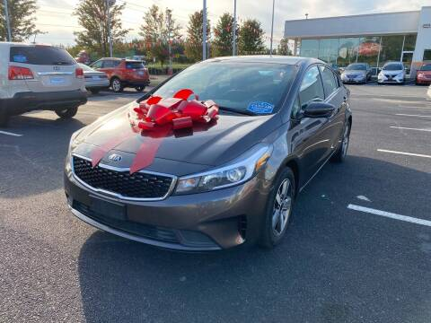 2018 Kia Forte for sale at Charlotte Auto Group, Inc in Monroe NC