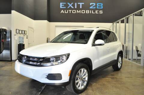2017 Volkswagen Tiguan for sale at Exit 28 Auto Center LLC in Cornelius NC