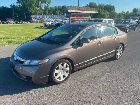2011 Honda Civic for sale at Paul Hiltbrand Auto Sales LTD in Cicero NY