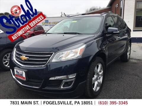 2017 Chevrolet Traverse for sale at Strohl Automotive Services in Fogelsville PA