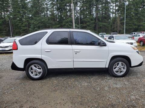 2003 Pontiac Aztek for sale at WILSON MOTORS in Spanaway WA