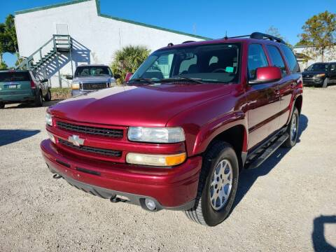 2004 Chevrolet Tahoe for sale at CAR-RIGHT AUTO SALES INC in Naples FL