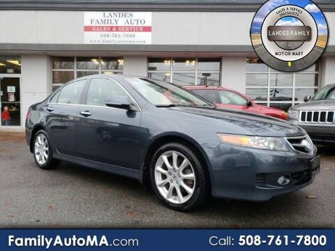 2008 Acura TSX for sale at Landes Family Auto Sales in Attleboro MA