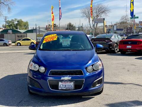 2013 Chevrolet Sonic for sale at Stark Auto Sales in Modesto CA