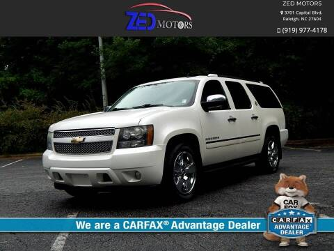 2010 Chevrolet Suburban for sale at Zed Motors in Raleigh NC