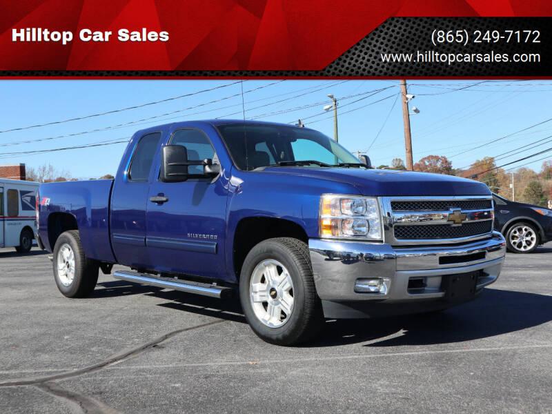 2013 Chevrolet Silverado 1500 for sale at Hilltop Car Sales in Knox TN